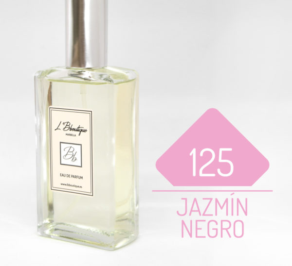 Jazmín negro perfume de mujer