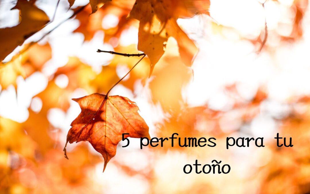 5 perfumes para el otoño