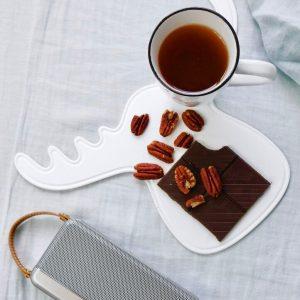 Té nueces y caramelo