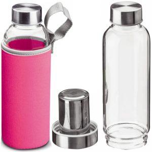 Botella rosa
