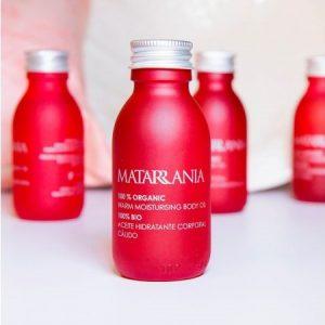 Aceite hidratante cálido